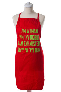 Apron- Invincible Woman