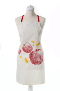 Apron- Apples and Bees