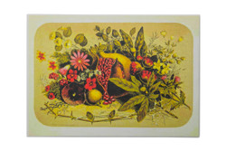 Vintage Pomegranate Placemat set of 4