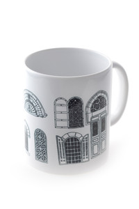 """Jerusalem Windows"" Mug"