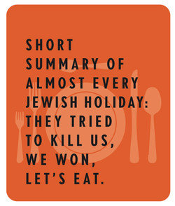 Jewish Holidays sign