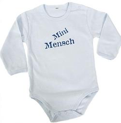 Mini Mensch Onesie Long sleeve