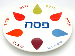 Six Pointer Star Seder Plate