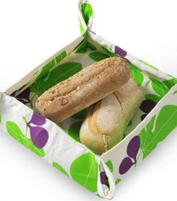 Fig Leaf Bread Basket