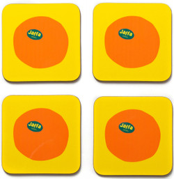 Jaffa Orange Coasters Set of 4