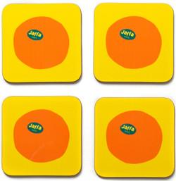 Jaffa Orange Coasters Set of 4
