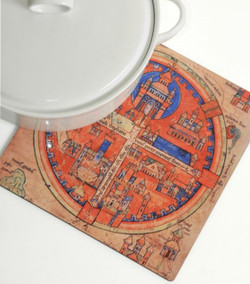 Trivet - Four Sections Ancient Jerusalem