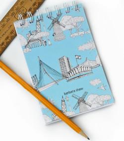 Jerusalem Notepad and Notebook