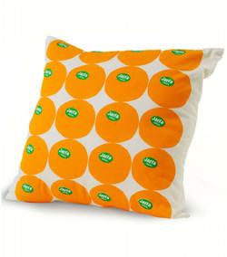 Jaffa Orange Cushion