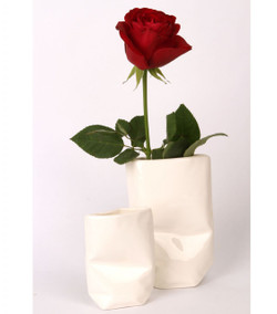 Blank Paper Vase