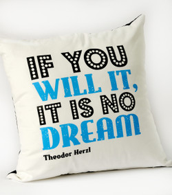 Herzl Cushion