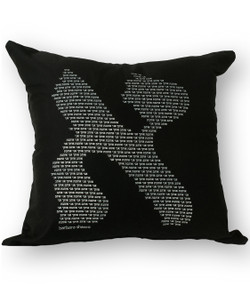 Aleph Cushion - Black