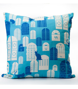 Jerusalem Doors Cushion