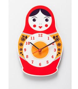 Babushka Clock