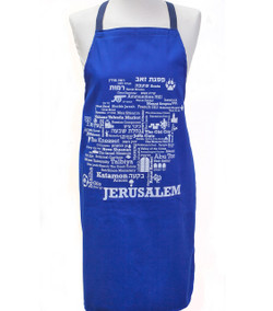 Apron - Jerusalem Word Map