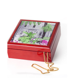 Jerusalem House Collection - Jewelry Box - Green