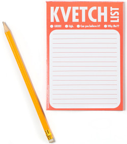 """Kvetch"" List Notepad"