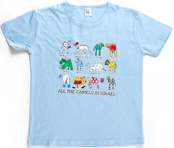 All the Camels in Israel BlueT-Shirt