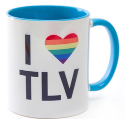 Mug - I Heart TLV