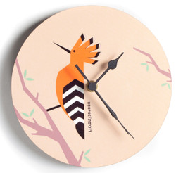 Hoopoe 'Flights of Fancy' Clock