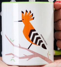 Hoopoe 'Flights of Fancy' Mug