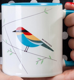 Bee-Eater 'Flights of Fancy' Mug
