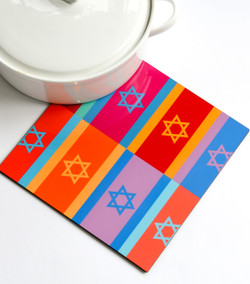 Trivet - Colorful Flags