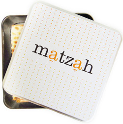 "NEW! Barbara Shaw ""Matzah"" Box"