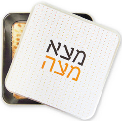 Matzah Tin Storage Box - Found The Matzah.