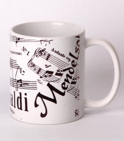 Mug - Musical Notes
