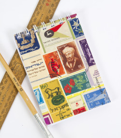 Notepad and Notebook - Israeli Stamps