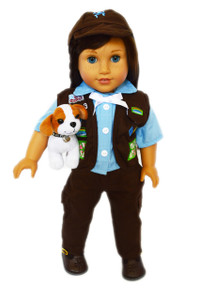 My Brittany's Girl Scouts Brownie Outfit for American Girl Dolls