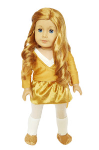 My Brittany's Holiday Recital Dance Set for American Girl Dolls- 18 Inch Doll Clothes