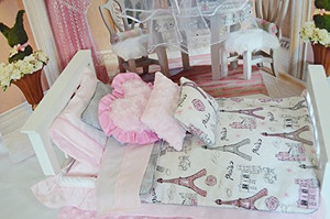 DREAMING OF PARIS QUILT AND BEDDING SET