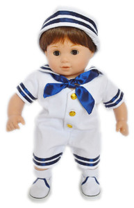 SAILOR OUTFIT FOR AMERICAN GIRL BITTY BOY
