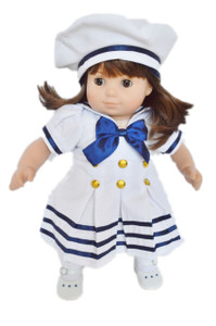 Bitty Twins Girl Sailor Outfit