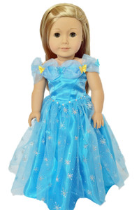 ✿ CINDERELLA GOWN FOR AMERICAN GIRL DOLLS ✿