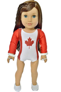 Maple Leaf Gymnastics for American Girl Dolls