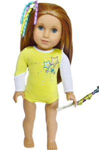 My Brittany's Yellow Leotard for American Girl Dolls