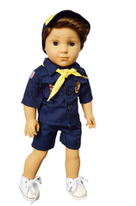 My Brittany's Blue Boy Scouts for 18 Inch Dolls