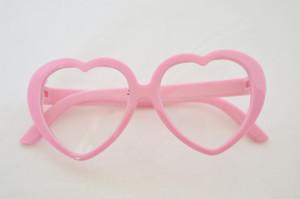 PINK HEART GLASSES