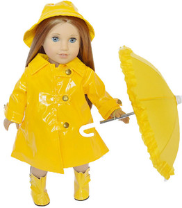✿ YELLOW RAINCOAT WITH ACCESSORIES ✿