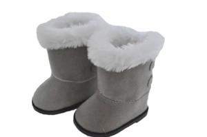 Grey Hugg Boots