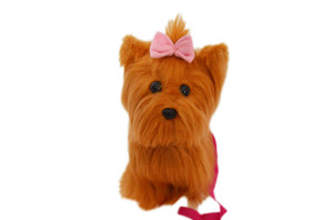 Yorkie For American Girl Doll with Leash