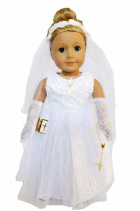 My Brittany's Sequin Top Communion with Accessories for American Girl Dolls