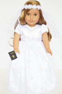 Communion Gown Complete with Shoes and Tights