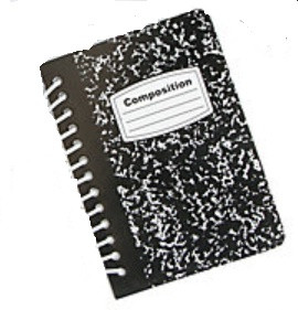 Mini Composition Notebooks- Add on item only