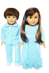 My Brittany's Two Pack Nightgown and Pj Set Blue