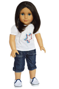Capri Set For American Girl Dolls