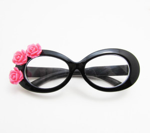 Black Tropical Glasses for American Girl Dolls